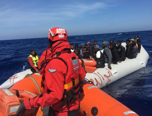 Aita Mari rescues 43 people adrift in the Central Mediterranean